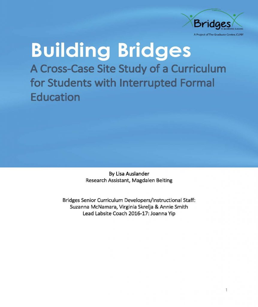 Bridges to Academic Success